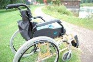 wózek osoby niepełnosprawnej