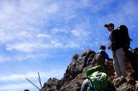 wspinaczka w górach