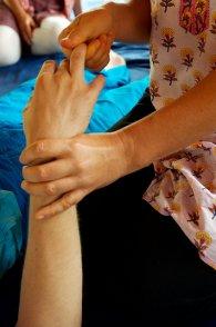 masaż ręki