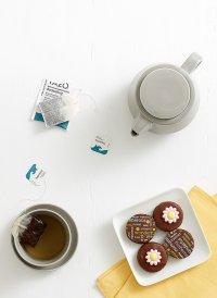 herbata i ciastko